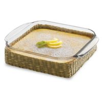 Libbey® Glass Baker's Basic 8-Inch Square Baking Dish with Basket