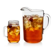 Libbey® Glass Country Folk 7-Piece Sweet Tea Drinkware Set in Clear