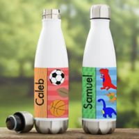 Just For Him Personalized Insulated Water Bottle