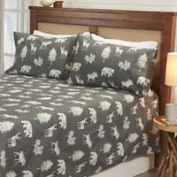 Great Bay Home™ Lodge Full Sheet Set in Dark Grey