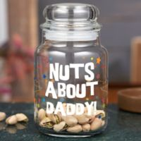 Nuts About...Personalized Glass Treat Jar