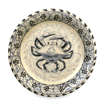Blue Crab Bay Co.® 11-Inch Dinner Plate  sc 1 st  Bed Bath \u0026 Beyond & Buy Crab Plates from Bed Bath \u0026 Beyond