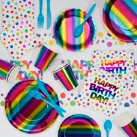 Creative Converting™ 81-Piece Rainbow Party Supplies Kit