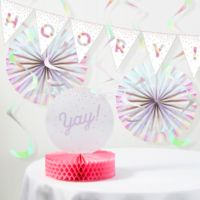 Creative Converting™ 14-Piece Iridescent Party Decorations Kit in Pink