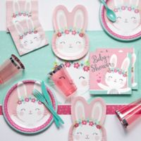 Creative Converting™ 81-Piece Bunny Party Baby Shower Party Supplies Kit
