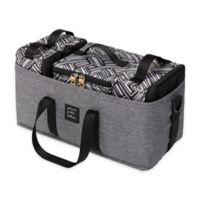 Petunia Pickle Bottom Inter-Mix Deluxe Diaper Bag Kit in Graphite/Black