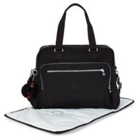 Kipling Alanna Over-the-Shoulder Diaper Bag in Black