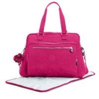 Kipling Alanna Over-the-Shoulder Diaper Bag in Very Berry