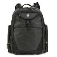 Jeep® Adventurers Diaper Backpack in Black