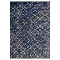 """Novelle Home Ogee 7'10"""" X 10'6"""" Area Rug in Grey"""