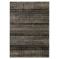 """Novelle Home Intricate 5'3"""" X 7'7"""" Area Rug in Brown"""