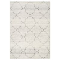 """Novelle Home Classic Ogee 6'7"""" X 9'6"""" Area Rug in Grey"""