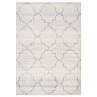 """Novelle Home Classic Ogee 7'10"""" X 10'6"""" Area Rug in Grey"""