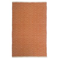 Fab Habitat™ Windsor 8' X 10' Woven Area Rug in Orange