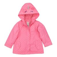 carter's® Size 2T Unicorn Jacket in Pink Dot