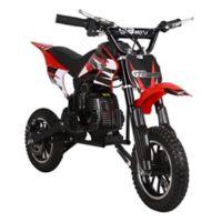 MotoTec 49cc GB Gas-Powered Dirt Bike in Red