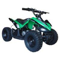 MotoTec 24-Volt Mini Quad V2 Battery-Powered Ride-On in Green