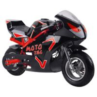 MotoTec GT 36-Volt Electric Pocket Bike in Red