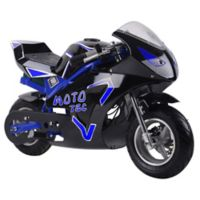 MotoTec GT 36-Volt Electric Pocket Bike in Blue