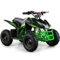 MotoTec 24-Volt Mini Quad Titan V5 Battery-Powered Ride-On in Black