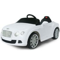 Rastar Bentley GTC 12-Volt Electric Ride-On in White