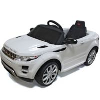 Rastar Land Rover Evoque 12-Volt Electric Ride-On in White