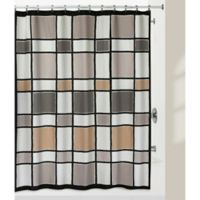 Creative Bath™ Color Block Shower Curtain in Neutral