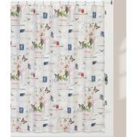 Creative BathTM Botanical Diary Shower Curtain