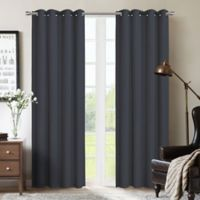 Therapedic® Nantes 63-Inch 100% Blackout Grommet Window Curtain Panel in Marine
