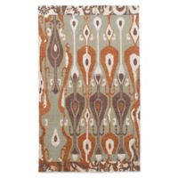 ECARPETGALLERY One of Kind La Seda 4'11 x 8' Hand-Knotted Area Rug in Khaki