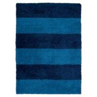 Calvin Klein® Chicago Tufted Shag 5' x 7' Area Rug in Blue
