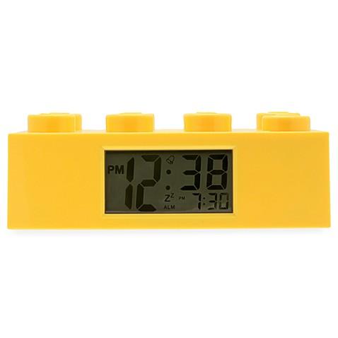 Lego 174 Brick Alarm Clock In Yellow Bed Bath Amp Beyond