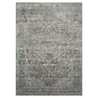 """Loloi Rugs Anastasia 2'7"""" X 4' Powerloomed Accent Rug in Stone/blue"""