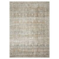 "Loloi Rugs Anastasia 6'7"" X 9'2"" Powerloomed Area Rug in Grey/multi"