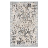 "Liora Manne Shadows 7'10"" X 9'10"" Woven Area Rug in Aqua"