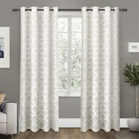 Cartago Grommet Top Room Darkening Window Curtain Panel Pair