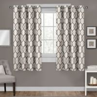 Kochi Grommet Top Room Darkening Window Curtain Panel Pair