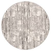 Safavieh Spirit Hannah 6'7 Round Power-Loomed Area Rug in Grey