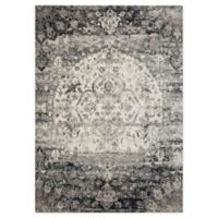 Loloi Rugs Anastasia 13' X 18' Powerloomed Area Rug in Ink/ivory
