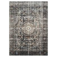 Loloi Rugs Anastasia 12' Runner in Charcoal