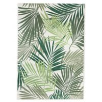 Miami Palm 6' x9' Indoor/Outdoor Area Rug in Green