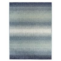 Destination Summer Miami Ombre Indoor/Outdoor 5'3 x 7' Area Rug in Blue