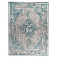 Bee & Willow™ Home Lake Road Indoor/Outdoor 5' x 7' Area Rug in Light Blue