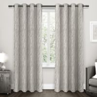 Forest Hill Grommet Top Room Darkening Window Curtain Panel Pair