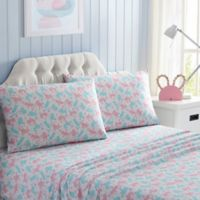 Kitty Full Sheet Set in Pink/Blue