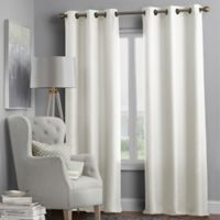 Hartsville Textured 4-Pack 95-Inch Grommet Window Curtain Panel Set in Beige