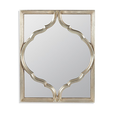 Cooper Classics Glass Silver 25.25-Inch x 31.5-Inch Haswell Mirror