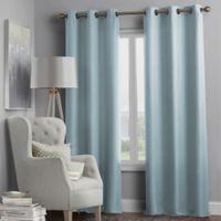 Hartsville Textured 4-Pack 95-Inch Grommet Window Curtain Panel Set in Spa