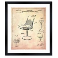 Oliver Gal™ Articles of Furniture 1960 Blueprint 10-Inch x 12-Inch Framed Wall Art