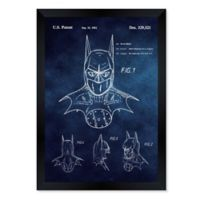 Oliver Gal™ Batman 1992 Blueprint 26-Inch x 32-Inch Framed Wall Art